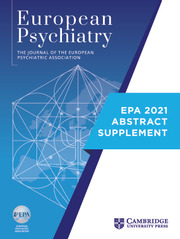 European Psychiatry Volume 64 - Special IssueS1 -  Abstracts of the 29th European Congress of Psychiatry