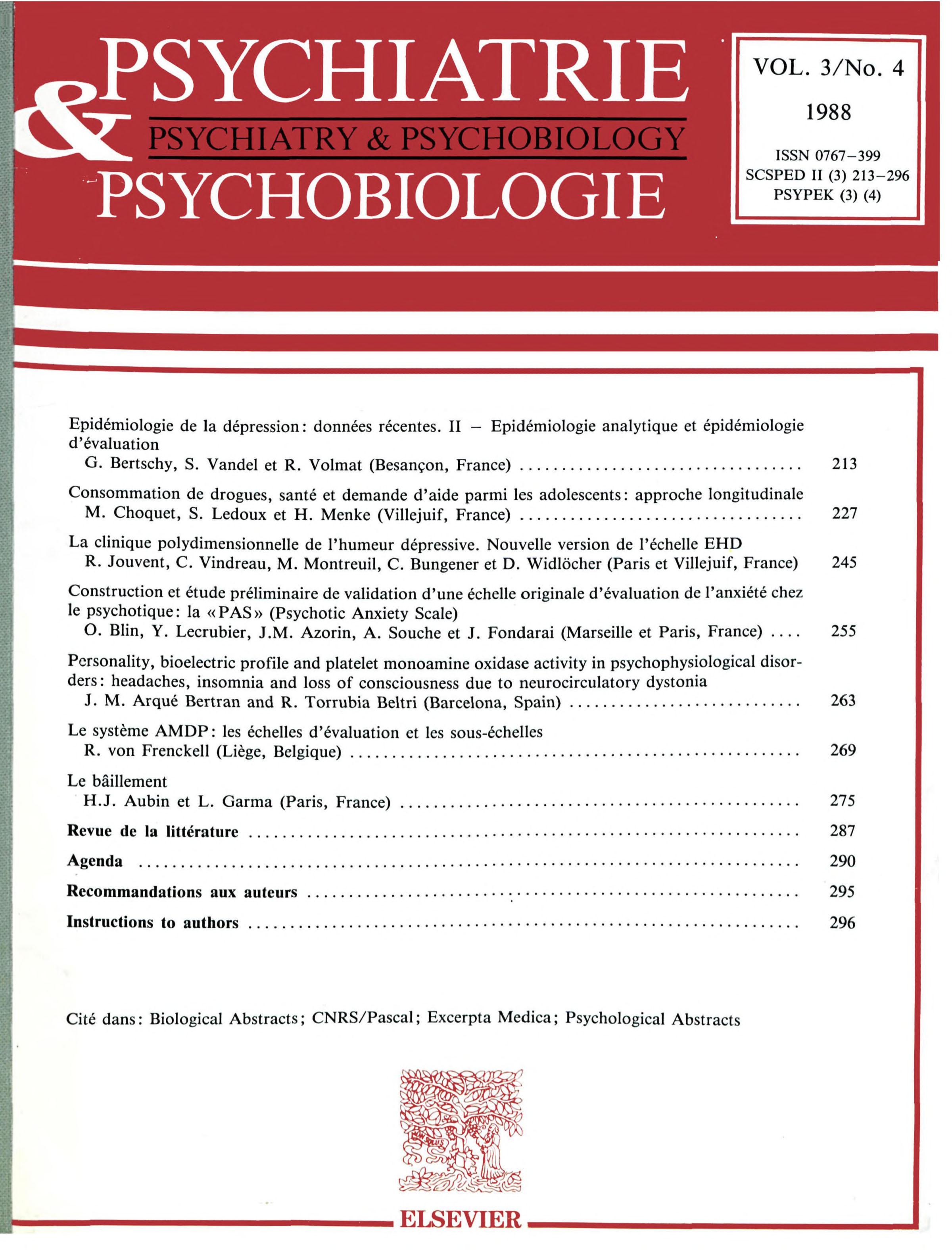 European Psychiatry (Ed. Española)