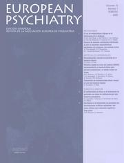 European Psychiatry Volume 13 - Issue 1 -