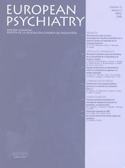 European Psychiatry Volume 13 - Issue 3 -