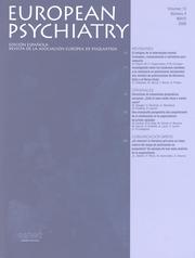 European Psychiatry Volume 13 - Issue 4 -
