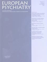 European Psychiatry Volume 14 - Issue 6 -
