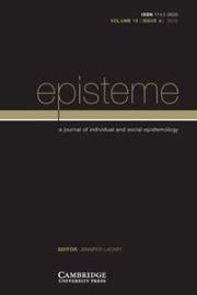 Episteme Volume 12 - Issue 4 -