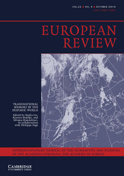 European Review Volume 22 - Issue 4 -