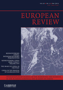 European Review Volume 23 - Issue 2 -