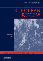 European Review Volume 26 - Issue 4 -
