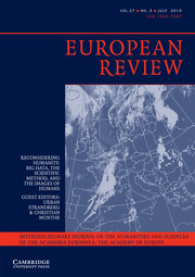 European Review Volume 27 - Issue 3 -