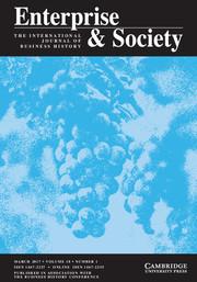Enterprise & Society Volume 18 - Issue 1 -