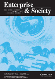 Enterprise & Society Volume 18 - Issue 2 -