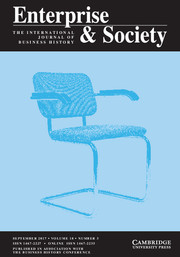 Enterprise & Society Volume 18 - Issue 3 -