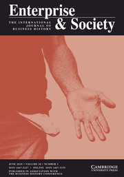 Enterprise & Society Volume 20 - Issue 2 -