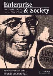 Enterprise & Society Volume 21 - Issue 2 -
