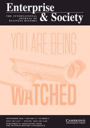 Enterprise & Society Volume 21 - Issue 3 -