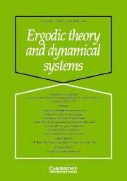 Ergodic Theory and Dynamical Systems Volume 23 - Issue 5 -