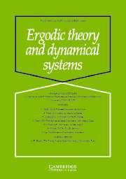 Ergodic Theory and Dynamical Systems Volume 24 - Issue 5 -