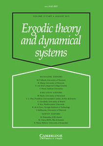 Ergodic Theory and Dynamical Systems Volume 33 - Issue 4 -