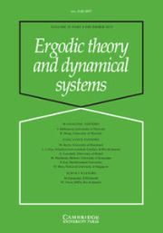 Ergodic Theory and Dynamical Systems Volume 35 - Issue 8 -