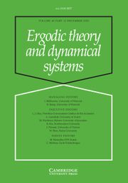Ergodic Theory and Dynamical Systems Volume 40 - Issue 12 -
