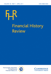 Financial History Review Volume 18 - Issue 1 -
