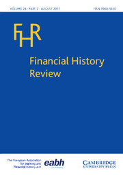 Financial History Review Volume 24 - Issue 2 -