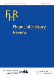 Financial History Review Volume 25 - Special Issue1 -  War, Taxes and Finance in the Long Eighteenth Century
