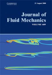 Journal of Fluid Mechanics Volume 609 - Issue  -