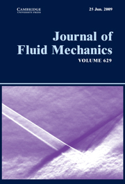Journal of Fluid Mechanics Volume 629 - Issue  -