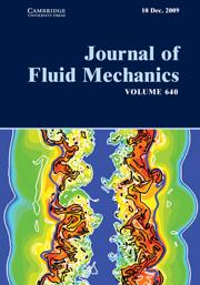 Journal of Fluid Mechanics Volume 640 - Issue  -