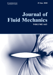 Journal of Fluid Mechanics Volume 643 - Issue  -