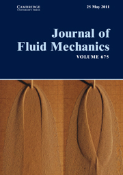Journal of Fluid Mechanics Volume 675 - Issue  -