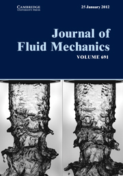 Journal of Fluid Mechanics Volume 691 - Issue  -