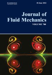 Journal of Fluid Mechanics Volume 700 - Issue  -