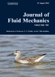 Journal of Fluid Mechanics Volume 705 - Issue  -
