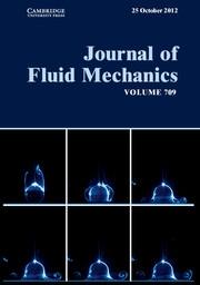 Journal of Fluid Mechanics Volume 709 - Issue  -