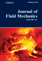 Journal of Fluid Mechanics Volume 716 - Issue  -