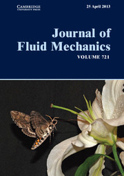 Journal of Fluid Mechanics Volume 721 - Issue  -
