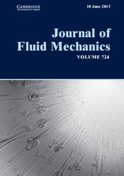Journal of Fluid Mechanics Volume 724 - Issue  -