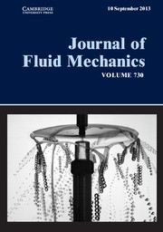 Journal of Fluid Mechanics Volume 730 - Issue  -