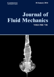 Journal of Fluid Mechanics Volume 738 - Issue  -