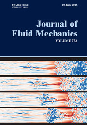 Journal of Fluid Mechanics Volume 772 - Issue  -