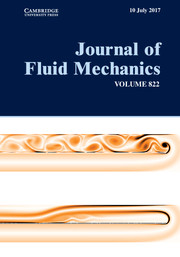 Journal of Fluid Mechanics Volume 822 - Issue  -