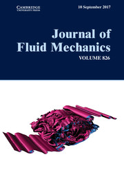 Journal of Fluid Mechanics Volume 826 - Issue  -