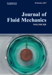 Journal of Fluid Mechanics Volume 828 - Issue  -