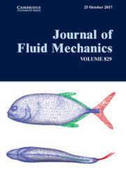 Journal of Fluid Mechanics Volume 829 - Issue  -