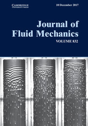 Journal of Fluid Mechanics Volume 832 - Issue -