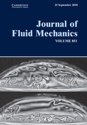 Journal of Fluid Mechanics Volume 851 - Issue  -