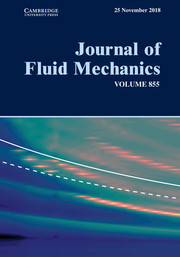 Journal of Fluid Mechanics Volume 855 - Issue  -
