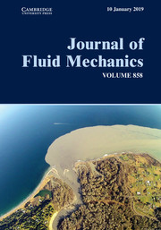 Journal of Fluid Mechanics Volume 858 - Issue  -