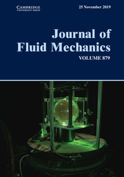 Journal of Fluid Mechanics Volume 879 - Issue  -