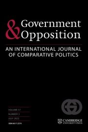 Government and Opposition